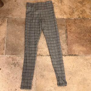 Zara stripped leggings
